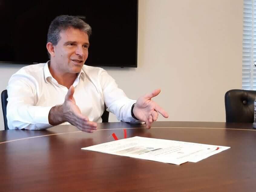 Leven Siano candidato à presidência do Vasco