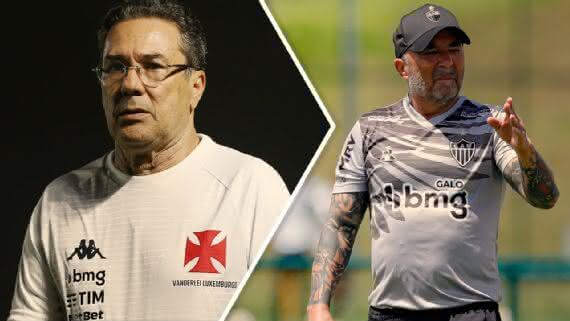 Luxemburgo e Jorge Sampaoli se enfrentam neste sábado
