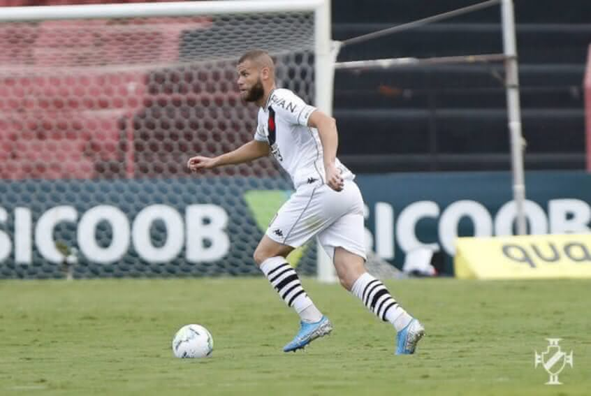 Marcelo Alves durante o jogo contra o Palmeiras