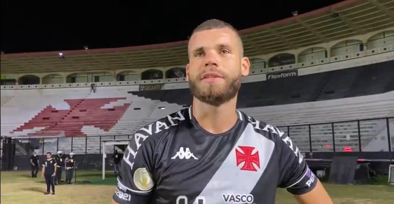 Marcelo Alves, zagueiro do Vasco