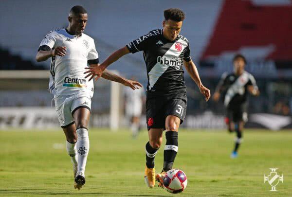 Marquinhos Gabriel durante o jogo contra o Botafogo