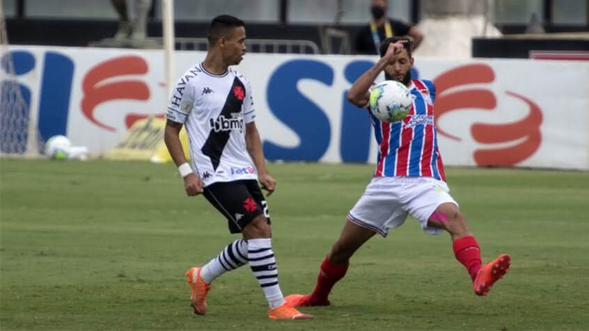 Yago Pikachu em jogo contra o Bahia