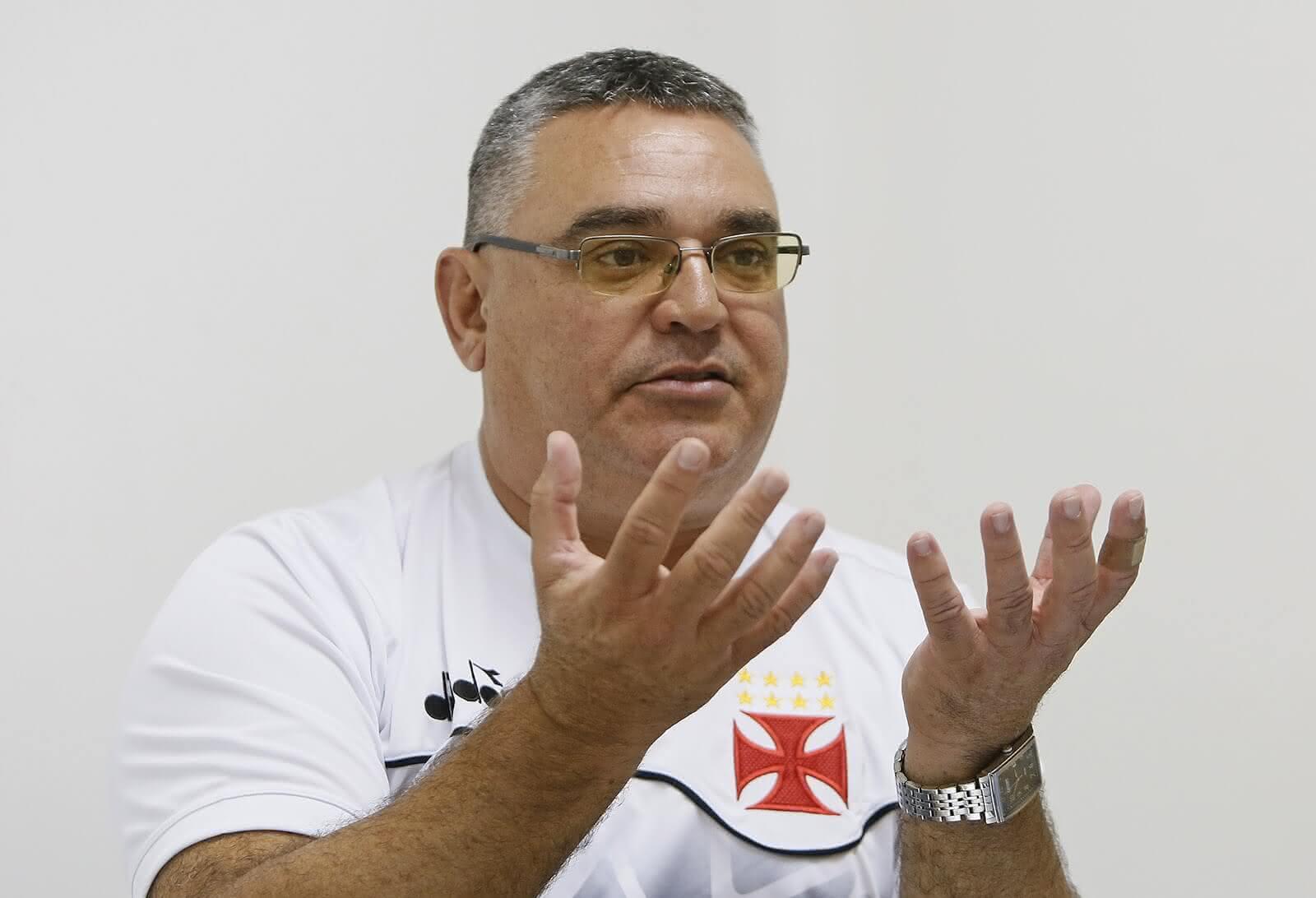 Prospero Paoli, coordenador metodológico da Base do Vasco