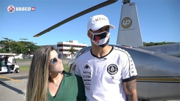 Ricardo Graça e a esposa Stephanye