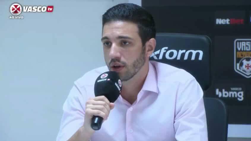 Alexandre Pássaro em entrevista nesta sexta-feira