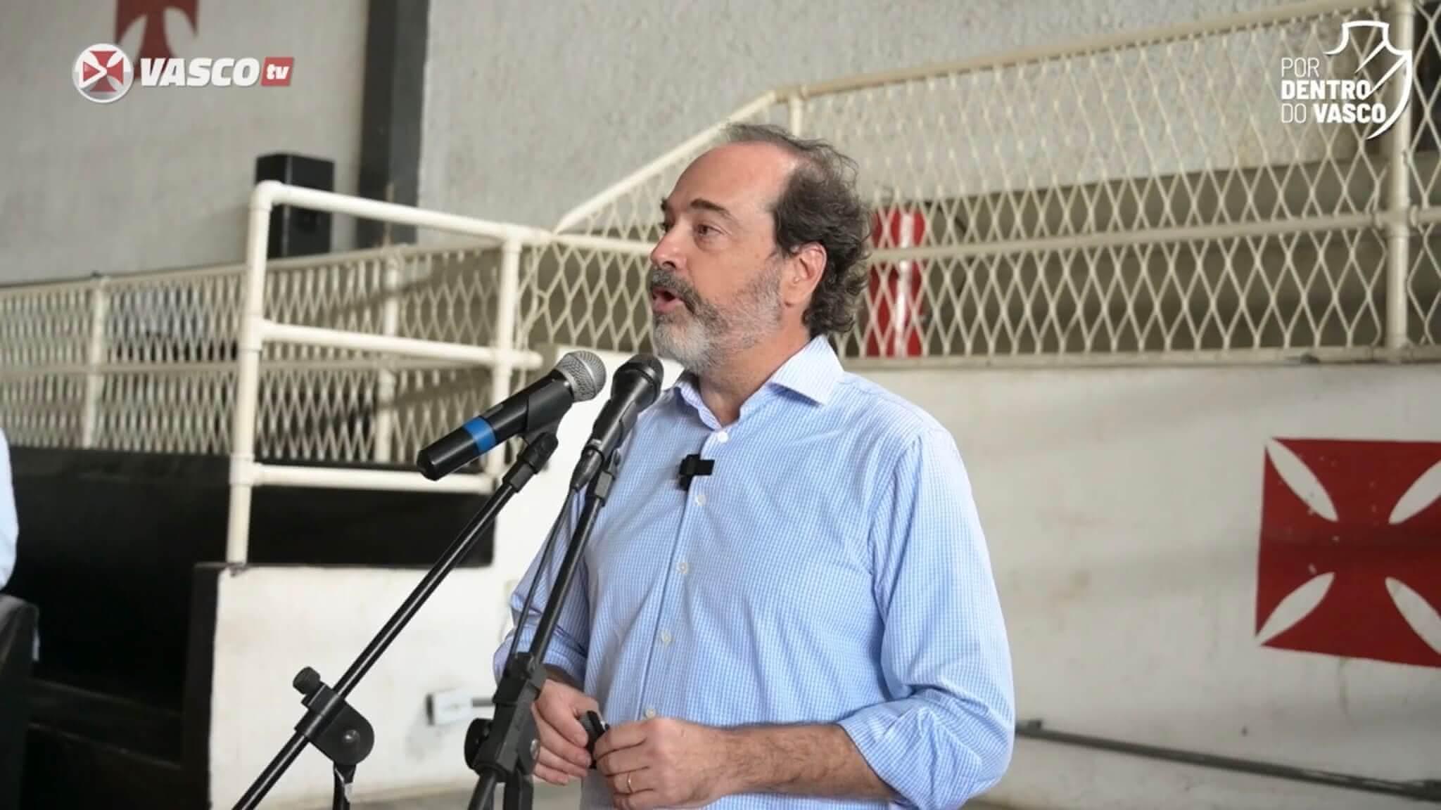 Carlos Roberto Osório, vice-presidente do Vasco
