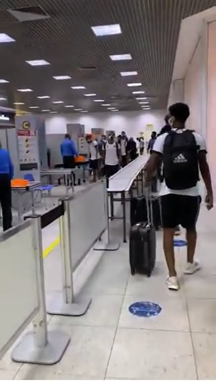 Delegação do Sub-20 do Vasco embarca para Vitória-ES