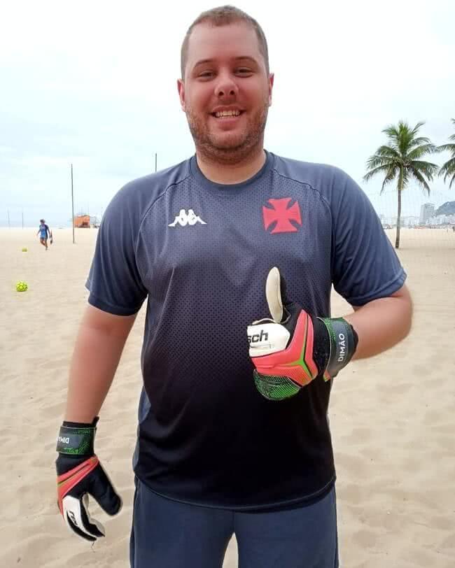 Dimas, do Beach Soccer Feminino do Vasco