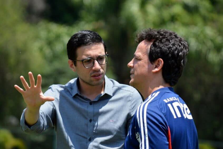 Fernando Diniz e Alexandre Pássaro