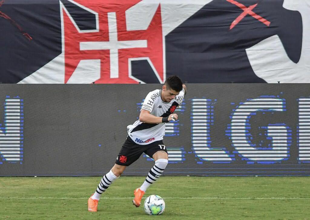 Gabriel Pec em Vasco 0 x 0 Bahia pelo Brasileirão