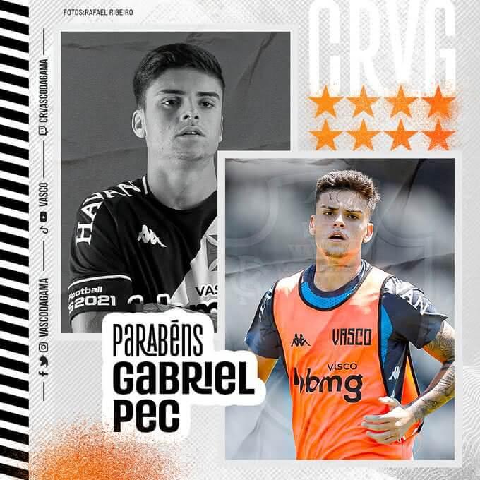Gabriel Pec, aniversariante do dia
