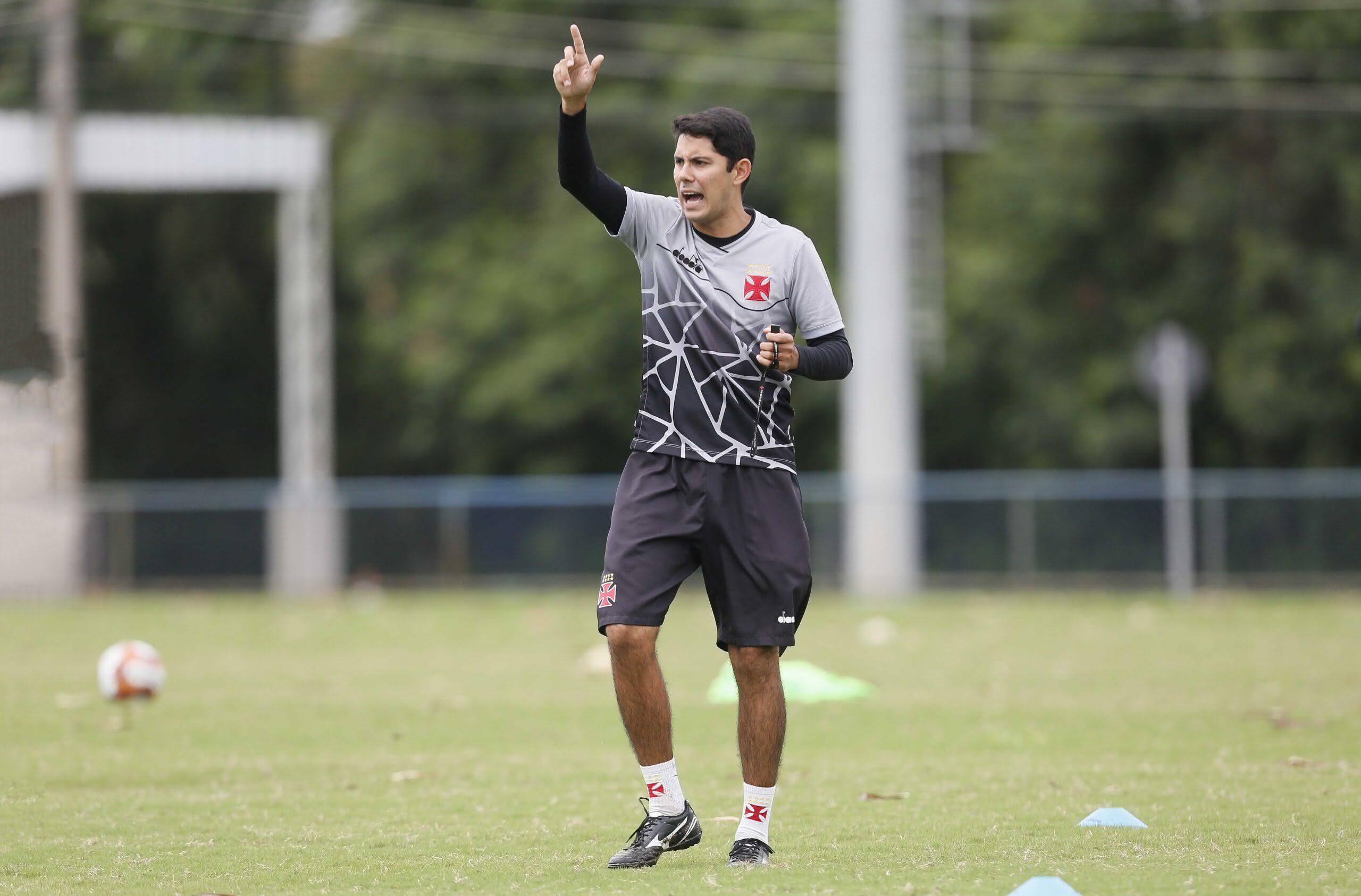 Igor Guerra é o novo técnico do Sub-17 do Vasco
