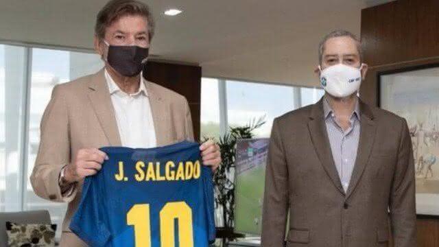 Jorge Salgado e Rogério Caboclo