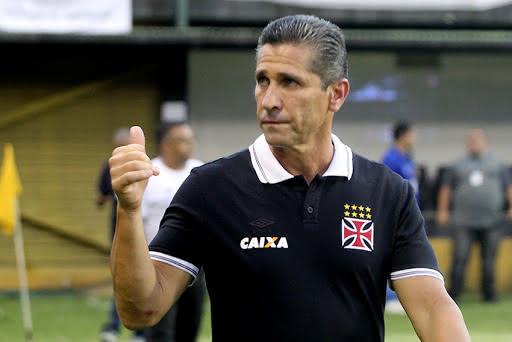 Jorginho em seu trabalho no Vasco em 2016