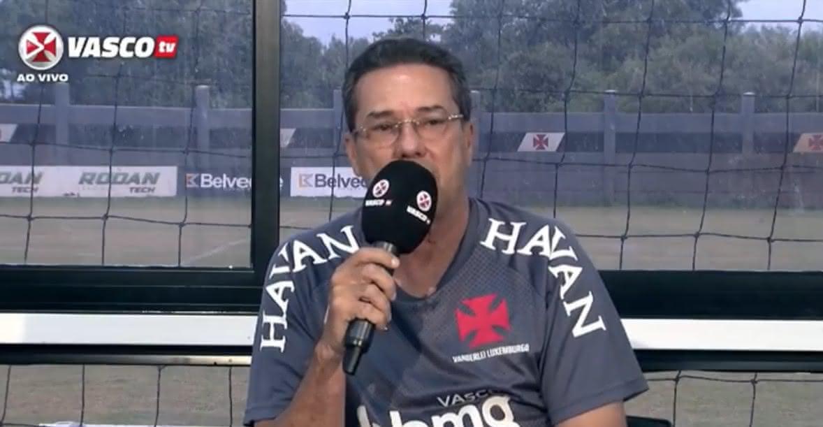 Vanderlei Luxemburgo, técnico do Vasco