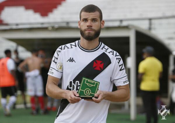 Marcelo Alves foi eleito o craque do jogo contra o Bahia