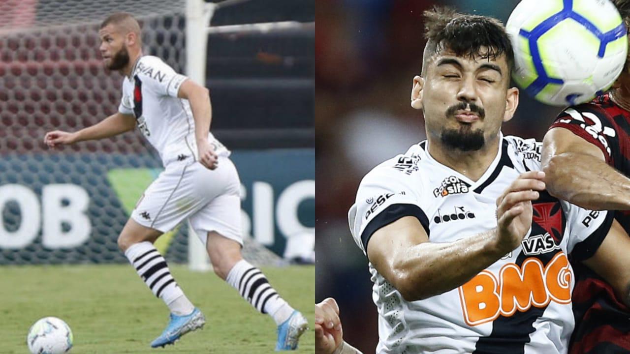 Respectivamente, Marcelo Alves e Ricardo Graça, zagueiros do Vasco