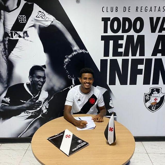 Marcos Dias, do Sub-20 do Vasco