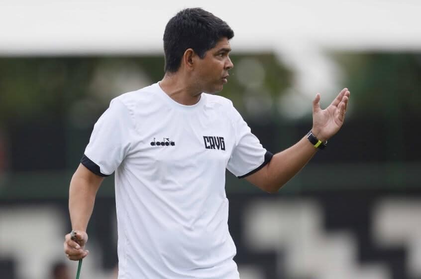 Marcos Valadares, ex-técnico do Sub-20 do Vasco