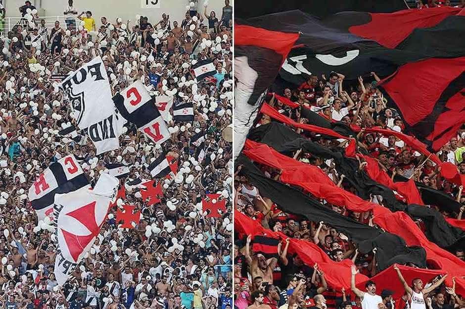 Torcedores de Vasco e Flamengo