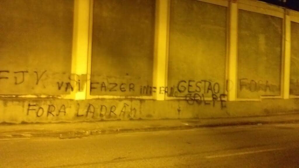 Jorge Salgado foi o grande alvo do protesto em São Januário