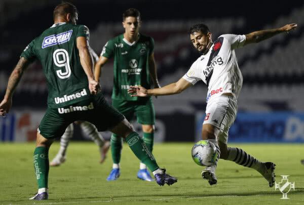 Ricardo Graça marcou gois gols contra o Goiás