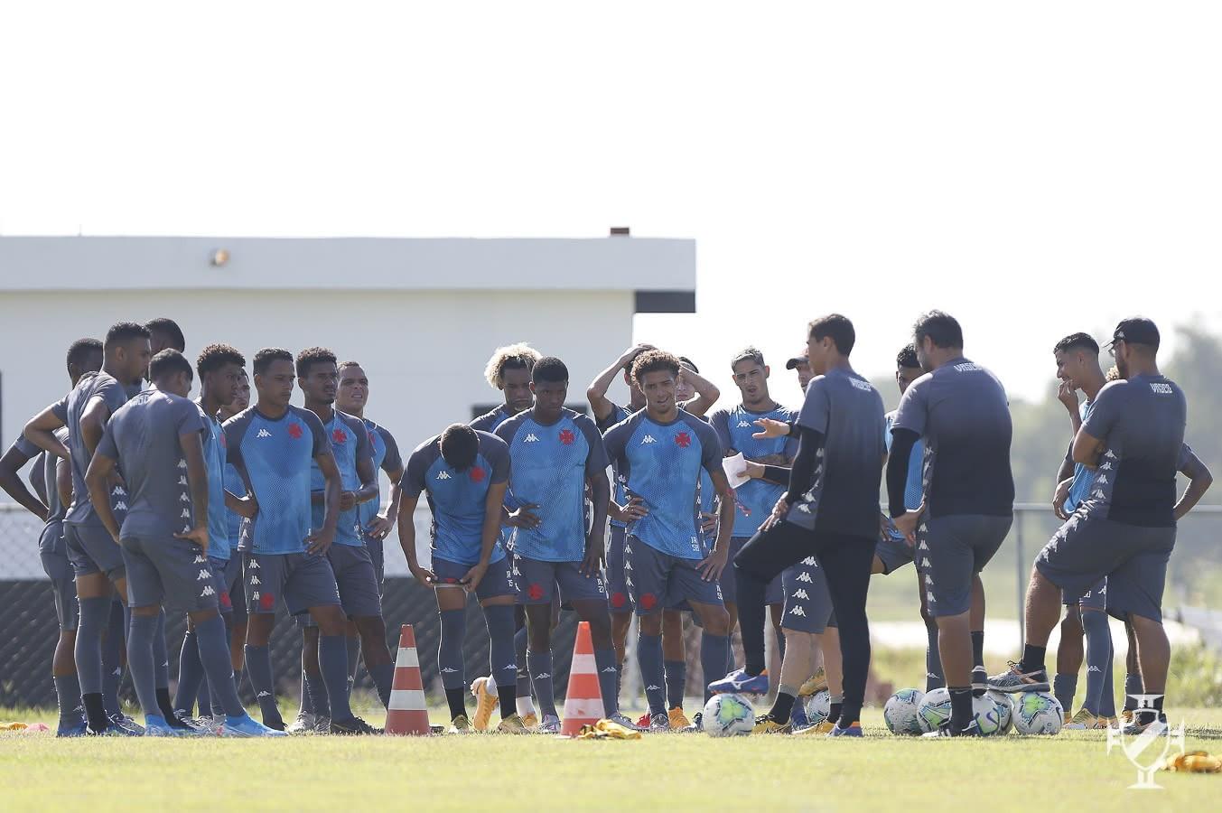 Treino da equipe sub-20 do Vasco