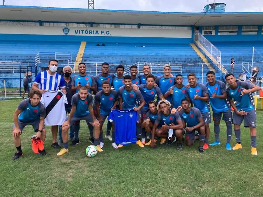 Equipe Sub-20 do Vasco no Espírito Santo