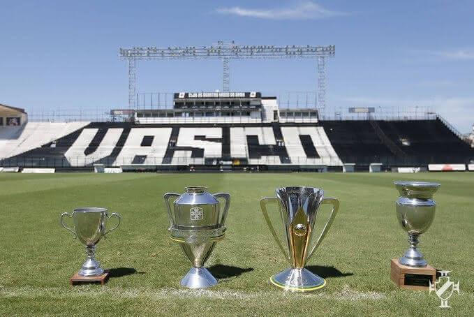 Taças conquistadas pelo Sub-20 do Vasco