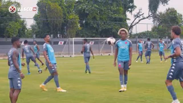 Vasco treinou no CT do Almirante na sexta-feira