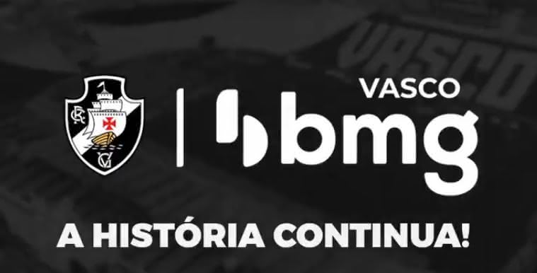 Banco BMG é o patrocinador master do Vasco