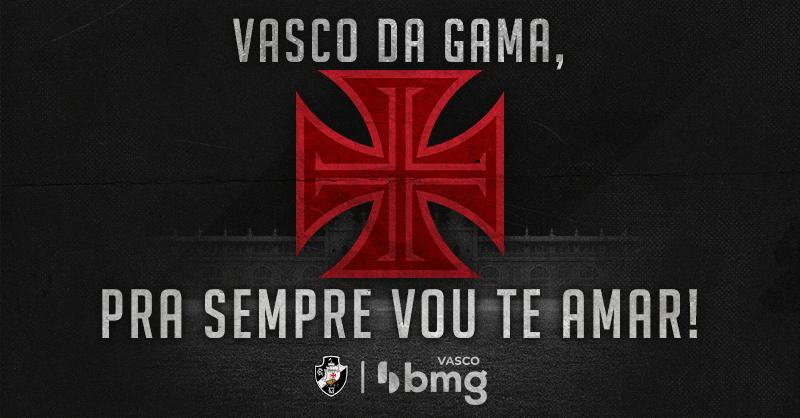 Foto publicada pelo Vasco BMG em referência a última rodada do Brasileirão