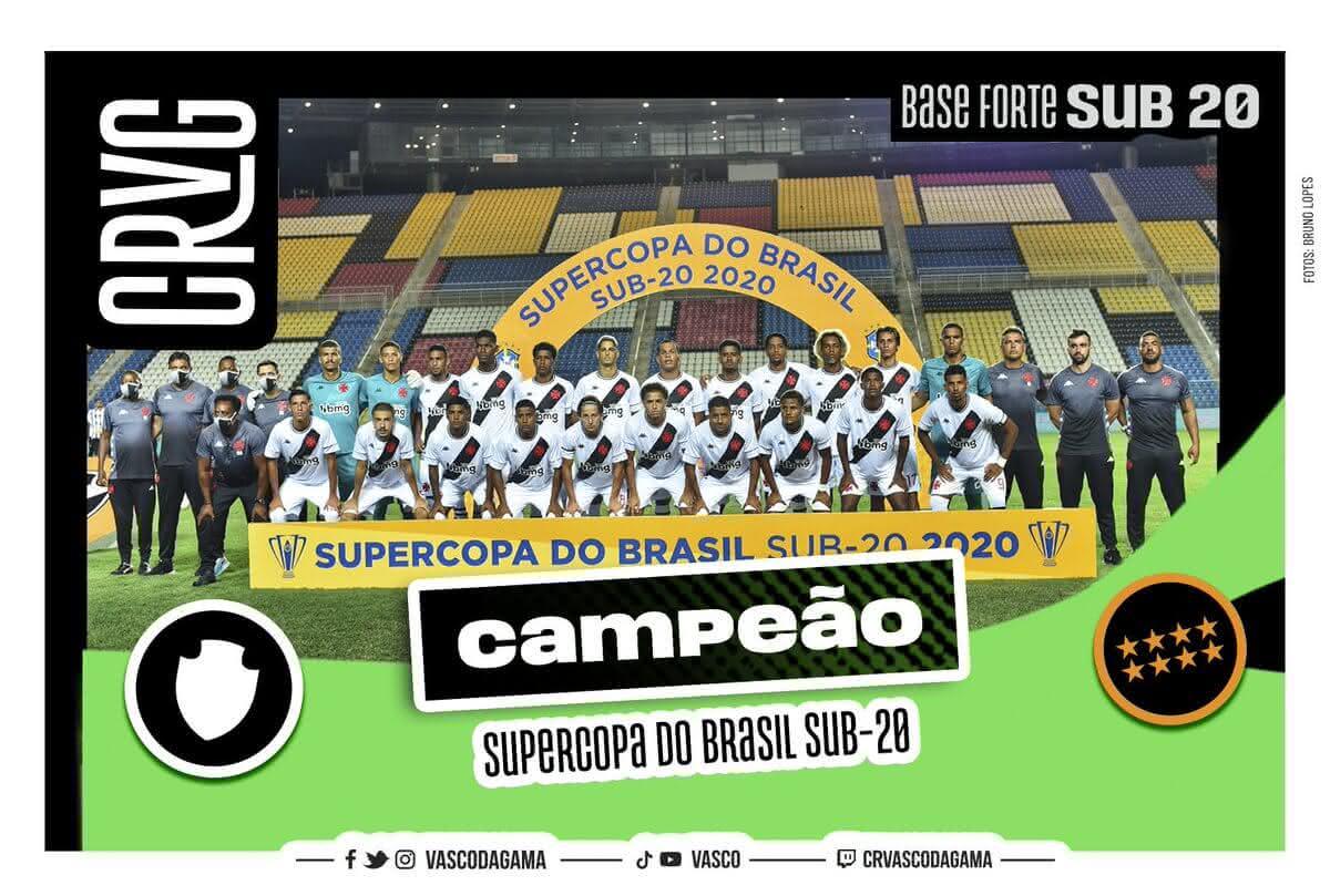 Vasco é campeão da Supercopa do Brasil Sub-20