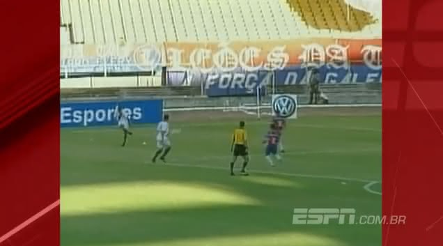 Vasco venceu o Fortaleza por 1x0 em 2003