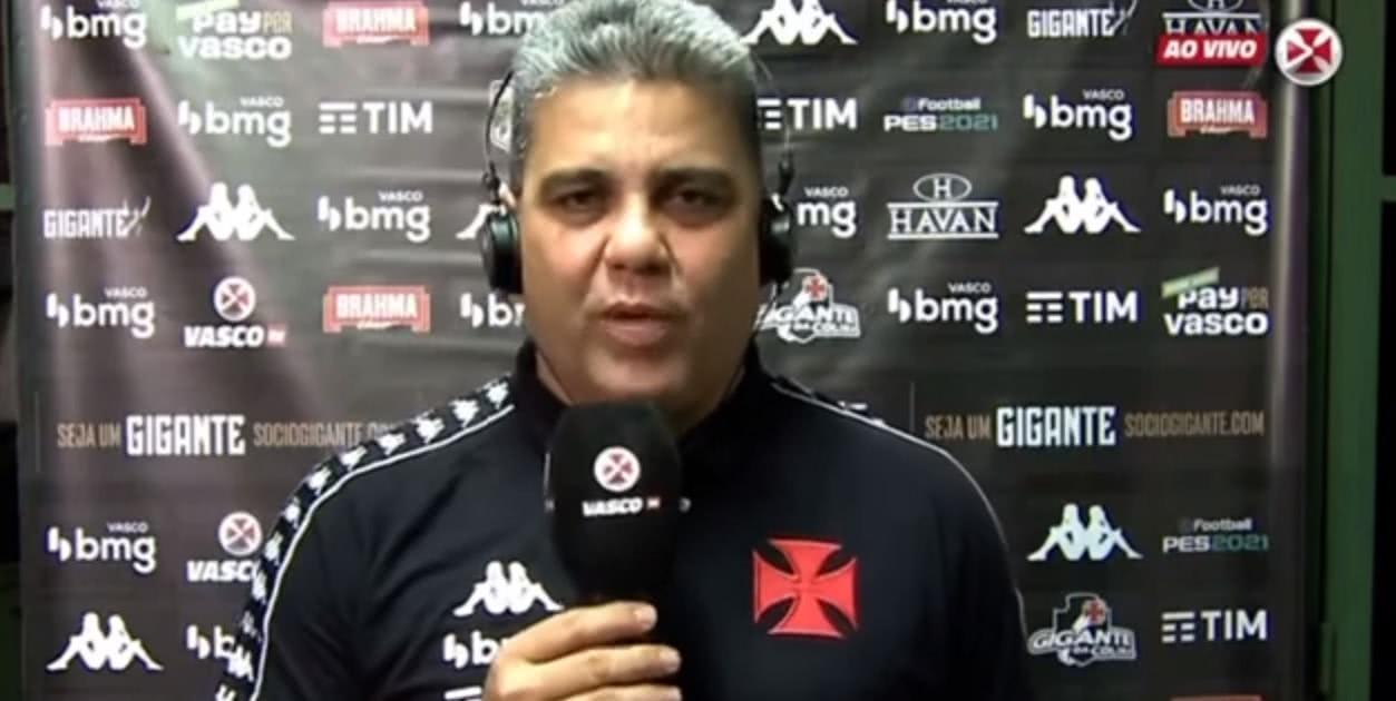 Marcelo Cabo na coletiva após Fluminense 1 x 1 Vasco