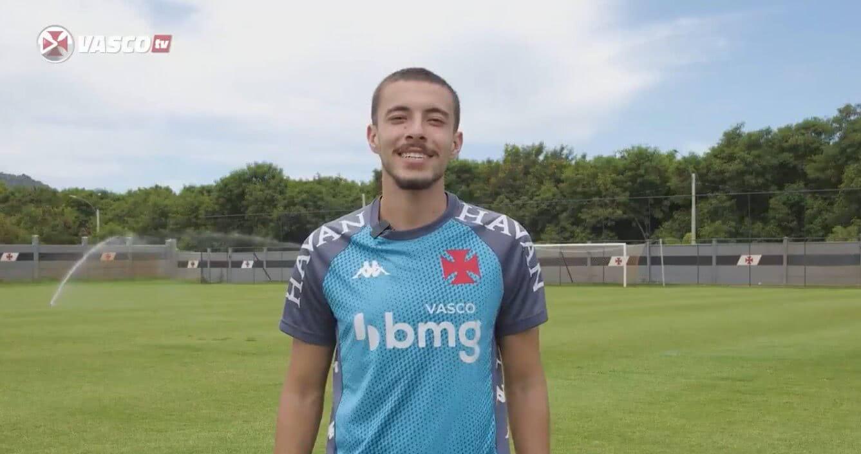 Caio Lopes em participação na Vasco TV