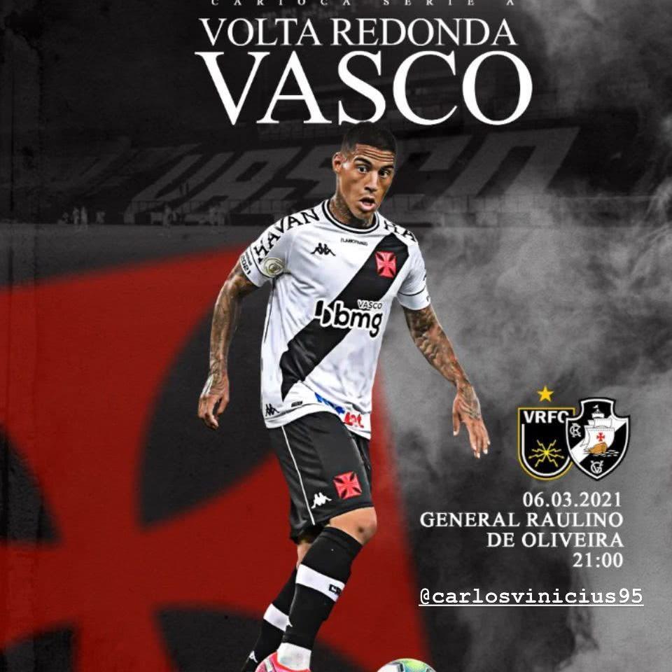 Agência publica imagem de Carlinhos referente ao jogo contra o Volta Redonda