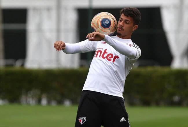 Diego Costa, jogador do São Paulo