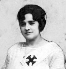 Dona Avelina, primeira mulher sócia do Vasco da Gama