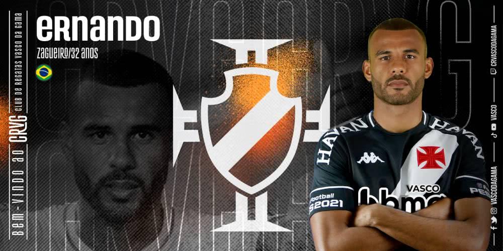 Hernando, novo reforço do Vasco
