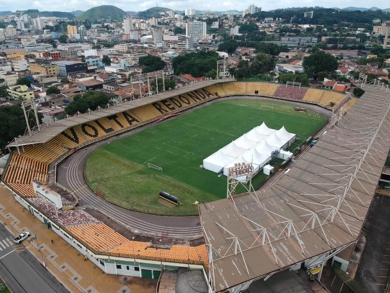 Estádio Raulino de Oliveira, em Volta Redonda