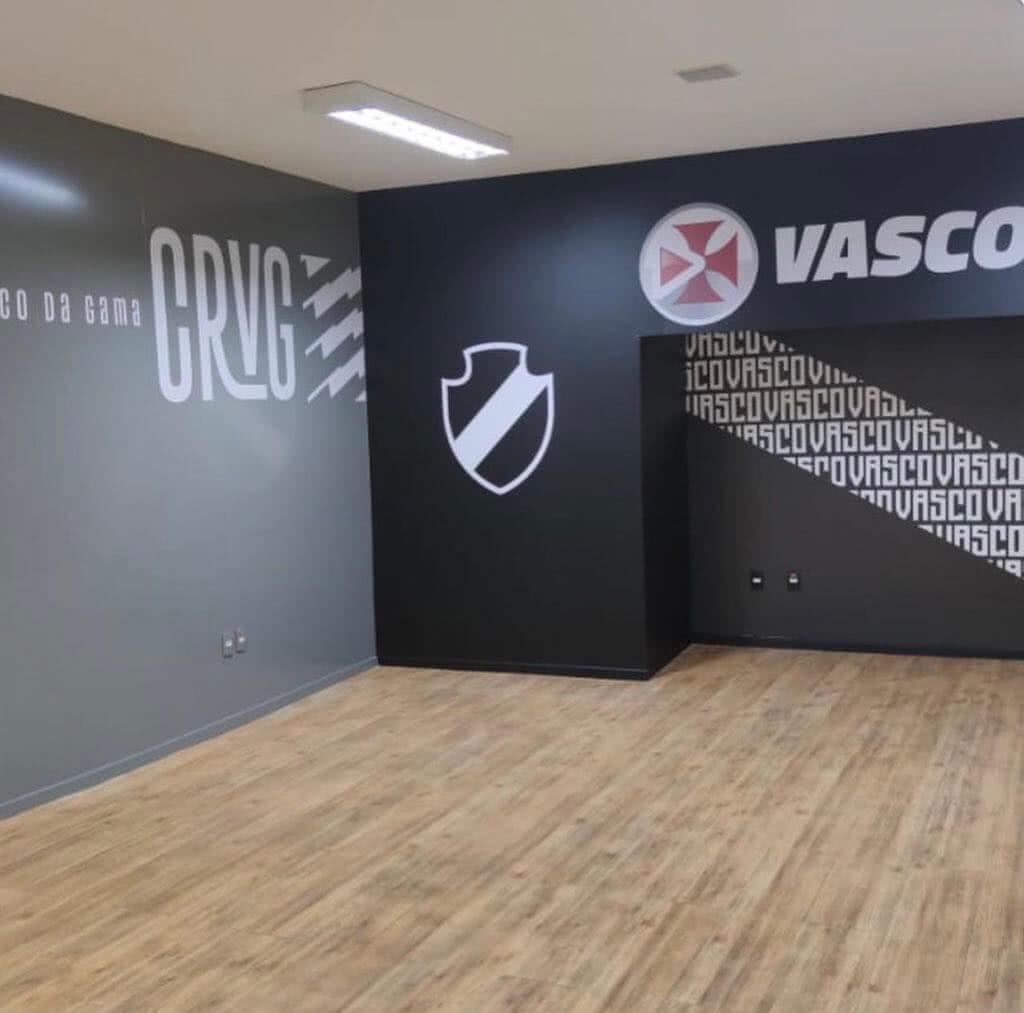 Novo estúdio da Vasco TV