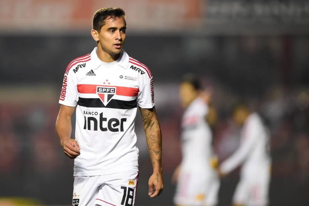 Everton Felipe está fora dos planos do São Paulo