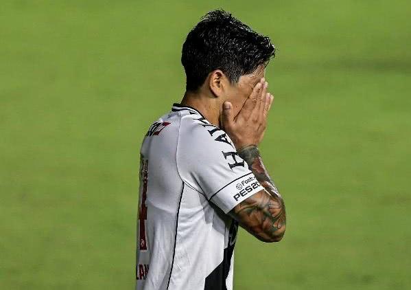 Germán Cano é a principal esperança do Vasco para 2021