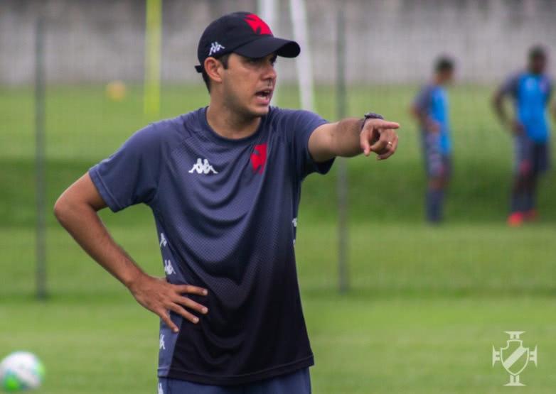 Igor Guerra, técnico do Sub-17 do Vasco