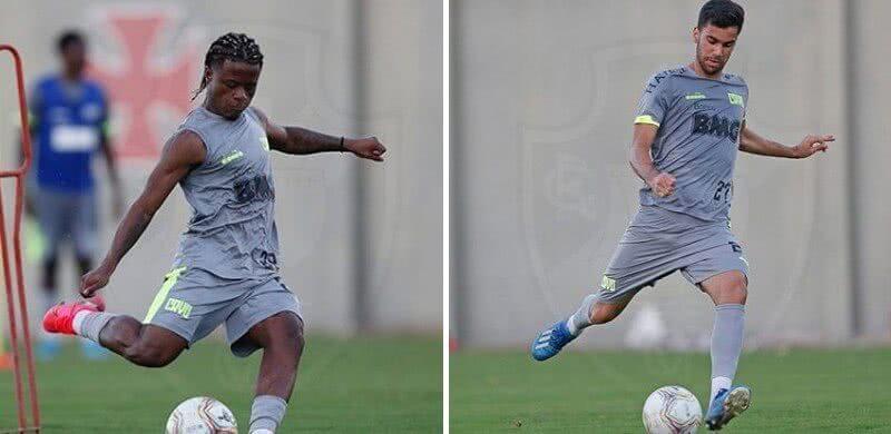 Lucas Santos e Tiago Reis