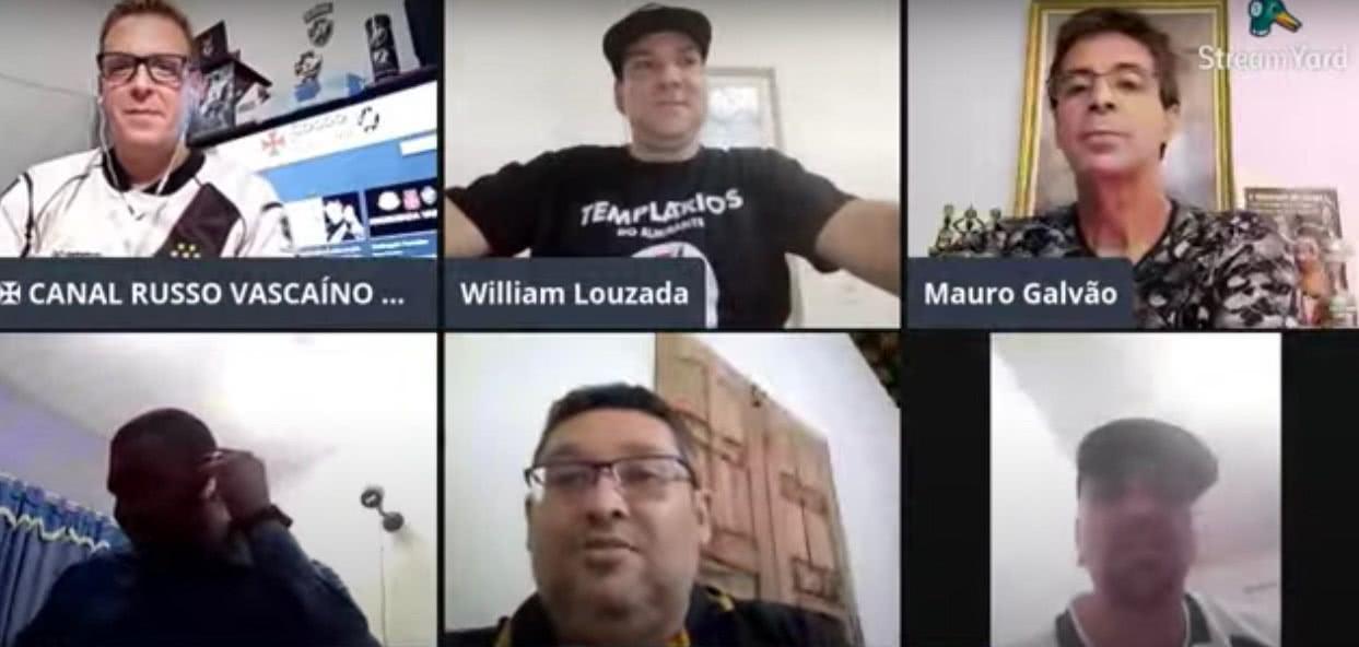Live com Mauro Galvão no canal Russo Vascaíno