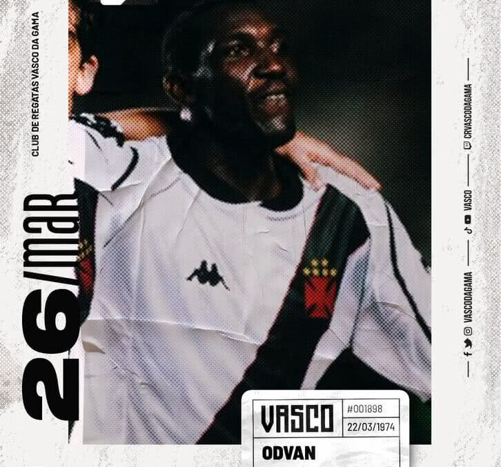 Odvan, ex-zagueiro do Vasco
