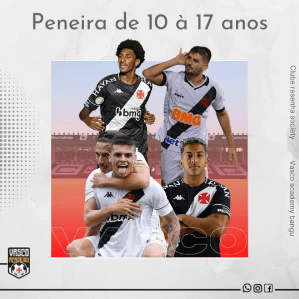 Peneira do Vasco Academy Bangu