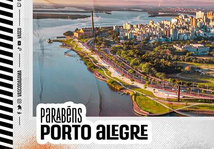 Porto Alegre, aniversariante do dia